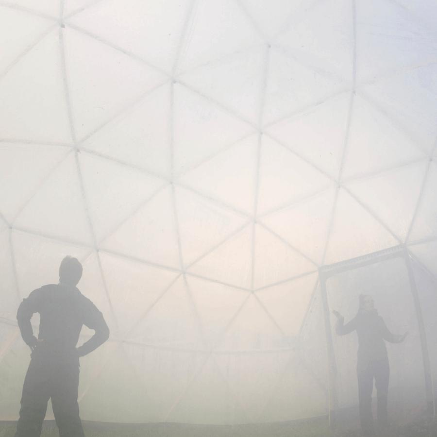 Pollution Dome Delhi