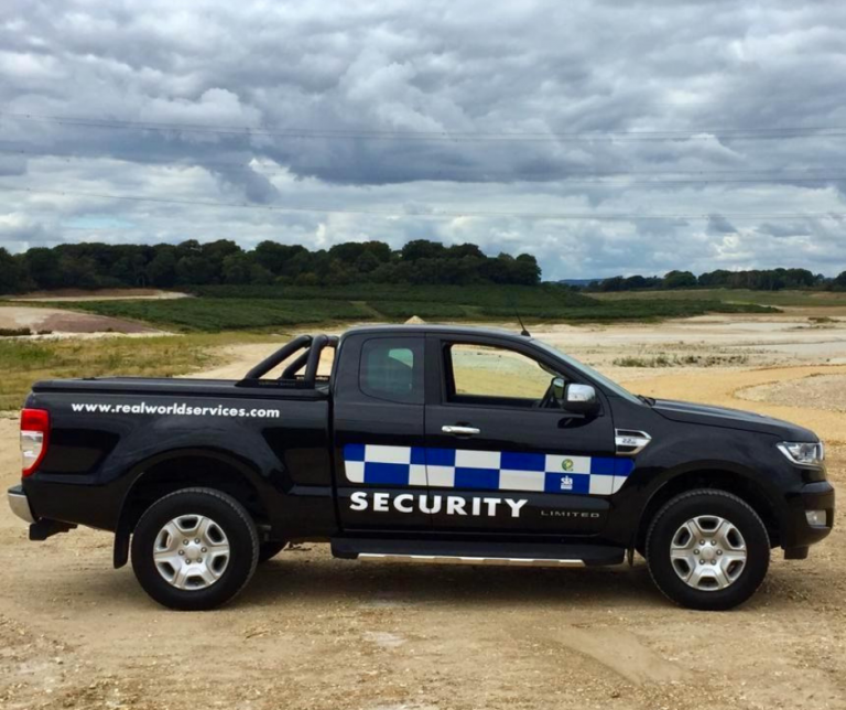 Mobile Security Patrol Vehicle - Ford Ranger