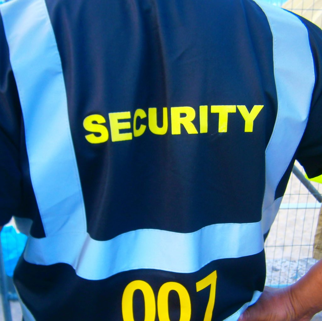 SIA Security Officer